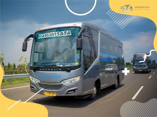 Sewa bus pariwisata di Jakarta-Bali
