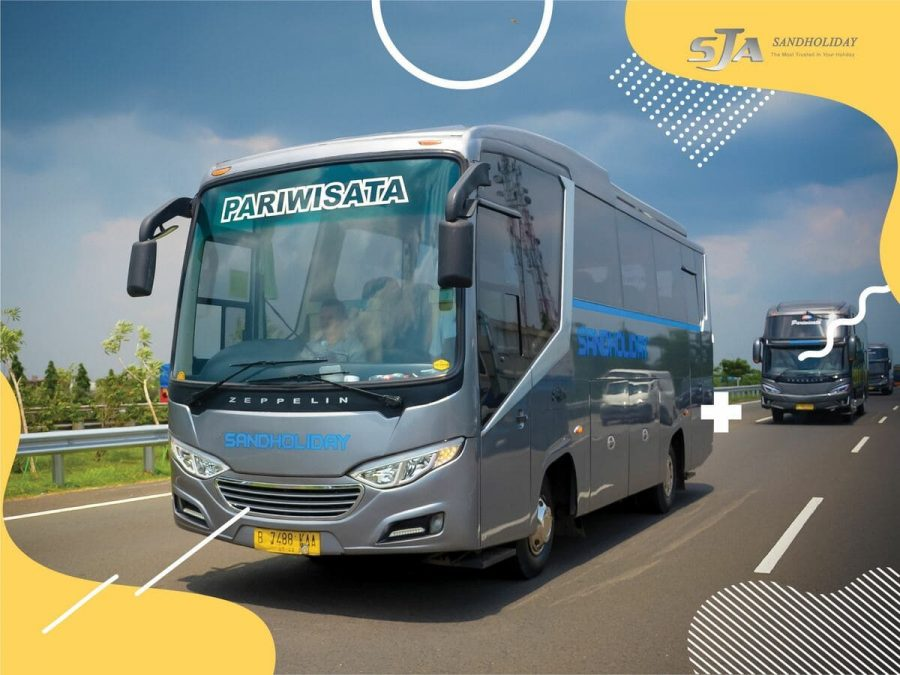 Sewa bus murah di Jakarta Sandholiday